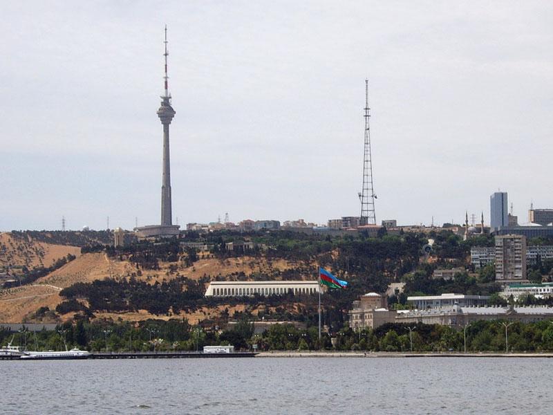 Баку телебашня - телевизионная башня ...